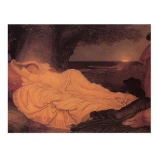 Frederic Leighton- Cymon und Iphigenia Postkarte