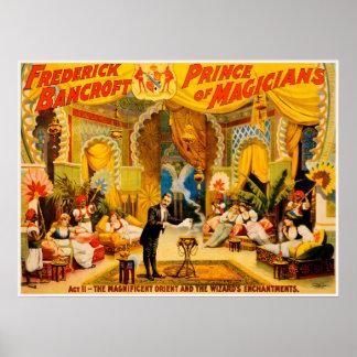 Frederick Bancroft, Prinz des Magier-Plakats Poster