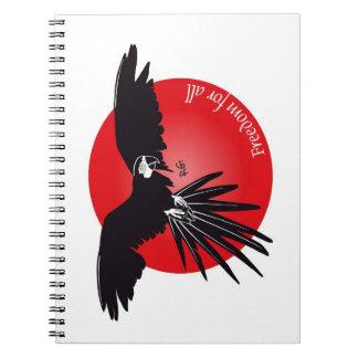 Freedom Notebook Spiral Notizblock