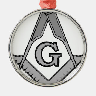 Freemasonry-2016040524 Silbernes Ornament