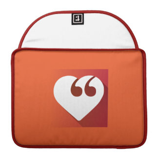 """Freie Sprache-Liebe 13"""" Macbook Prohülse Sleeves Für MacBook Pro"""