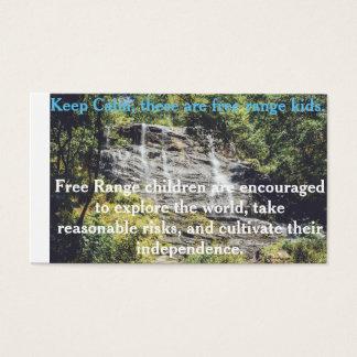 Freie Strecken-Kinderkarte Visitenkarte