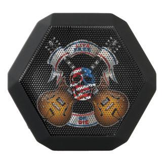 Freier lebhaftschädel und Gitarren - fertigen Sie Schwarze Bluetooth Lautsprecher