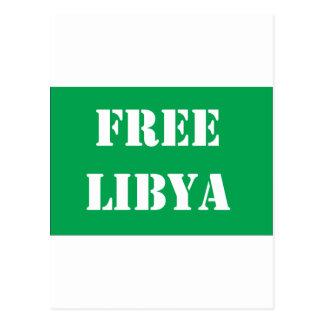 Freies Libyen Postkarte