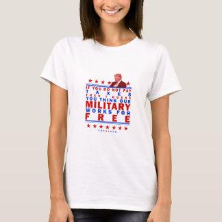 FREIES MILITÄR T-Shirt