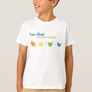 Freies Tibet-Jaspis-Shirt Hemd
