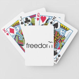 Freiheit Bicycle Spielkarten