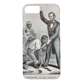Freiheit zu den Sklaven, Abraham Lincoln iPhone 8/7 Hülle