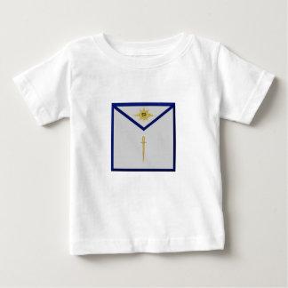 Freimaurerdachdecker-Schürze Baby T-shirt