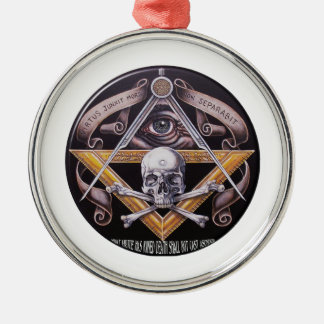 Freimaurervorzug Silbernes Ornament