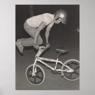 Freistilreiter der alte Schule BMX, 1986 Poster