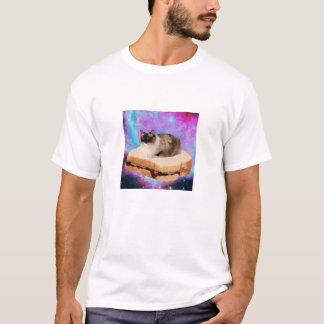 Freitag-Sandwich-Raum-Katze T-Shirt