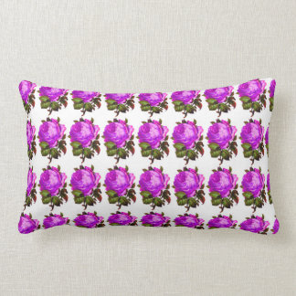 French_Spring_Floral_Violet-Rose_Lumbar_Accent Zierkissen