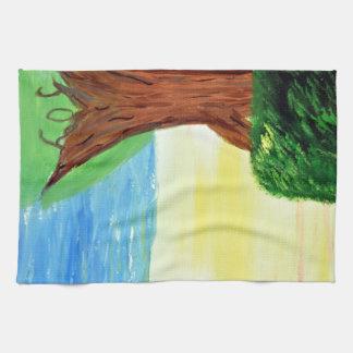 Freude-Baum Küchenhandtuch