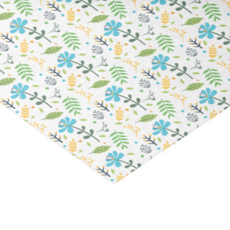 Freude-Blumen-Seidenpapier Seidenpapier