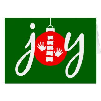 FREUDE Chiropraktik-Weihnachtskarte Karte