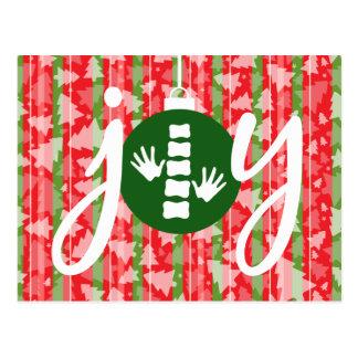 FREUDE Feiertags-Weihnachtschiropraktik-Postkarte Postkarte
