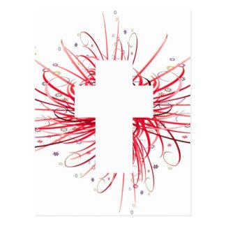 FREUDE! im Kreuz Postkarte