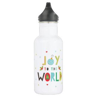 Freude zur Weltwasser-Flasche Edelstahlflasche