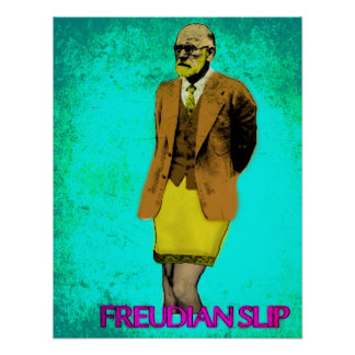 Freudscher Beleggrunge-Pop-Kunst Meme Poster