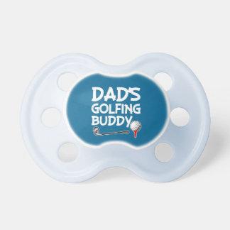 Freund-Babyjungen-Schnuller des Vatis Golf Schnuller