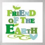 Freund der Erdt-shirts und -geschenke Poster