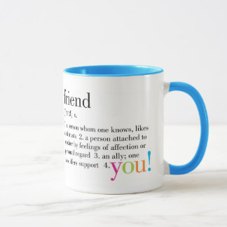 Freund-Tasse Tasse
