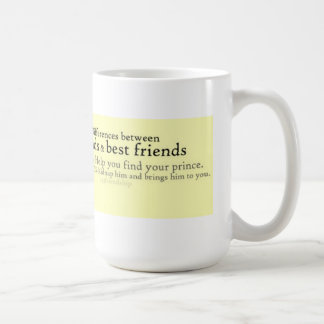 Freunde und beste Freunde Tasse