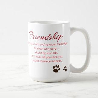 Freundschafts-Tasse Tasse
