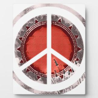 Frieden Fotoplatte