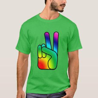 Frieden heraus unterzeichnen den ComfortBlend® T-Shirt