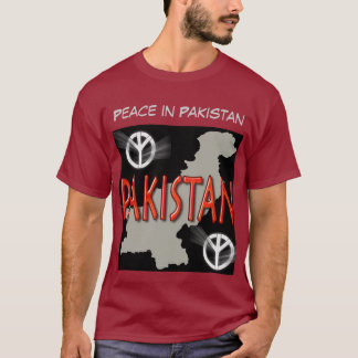 Frieden in Pakistan T-Shirt