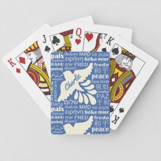 FRIEDEN in vielen Spielkarten des
