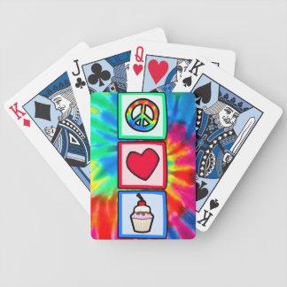 Frieden, Liebe, kleine Kuchen Spielkarten