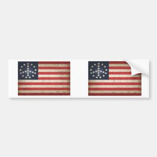 Friedensflagge - xdist autoaufkleber