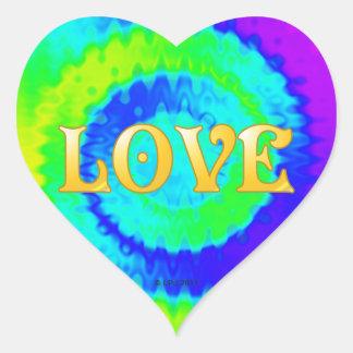 Friedensherz-Aufkleber Herz Sticker