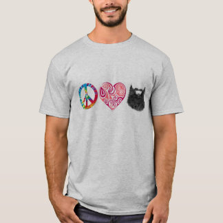 FriedensLiebe-Bärte T-Shirt
