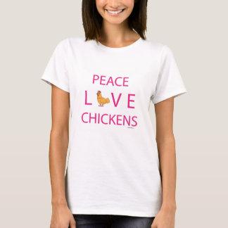 FriedensLiebe-Hühner T-Shirt