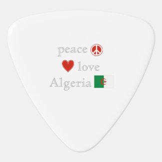 FriedensLiebe und -algerien Plektrum
