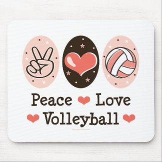 FriedensLiebe-Volleyball Mousepad