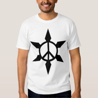 FriedensNinja Stern T-Shirt