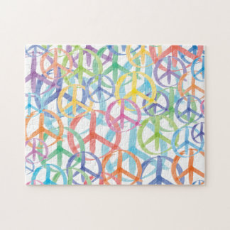 Friedenssymbol-Kunst Puzzle