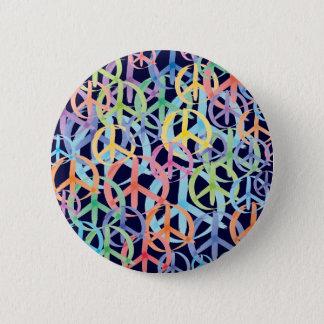 Friedenssymbol-Kunst Runder Button 5,7 Cm