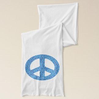 Friedenssymbol Schal