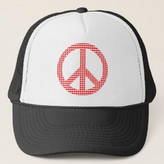 Friedenssymbol Truckerkappe