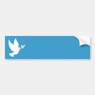 Friedenstaube Autoaufkleber