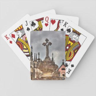Friedhofsquernahaufnahme, Portugal Spielkarten