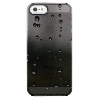 Friedlicher Regen Durchsichtige iPhone SE/5/5s Hülle