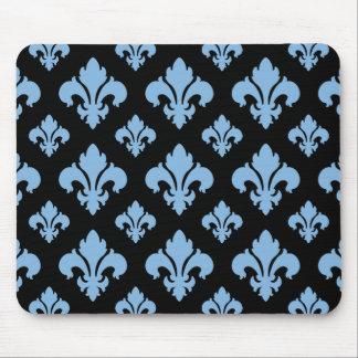 Friedvolles Blau der Lilien-2 Mauspad