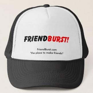 "FriendBurst.com ""der Platz, zum der Freunde zu Truckerkappe"